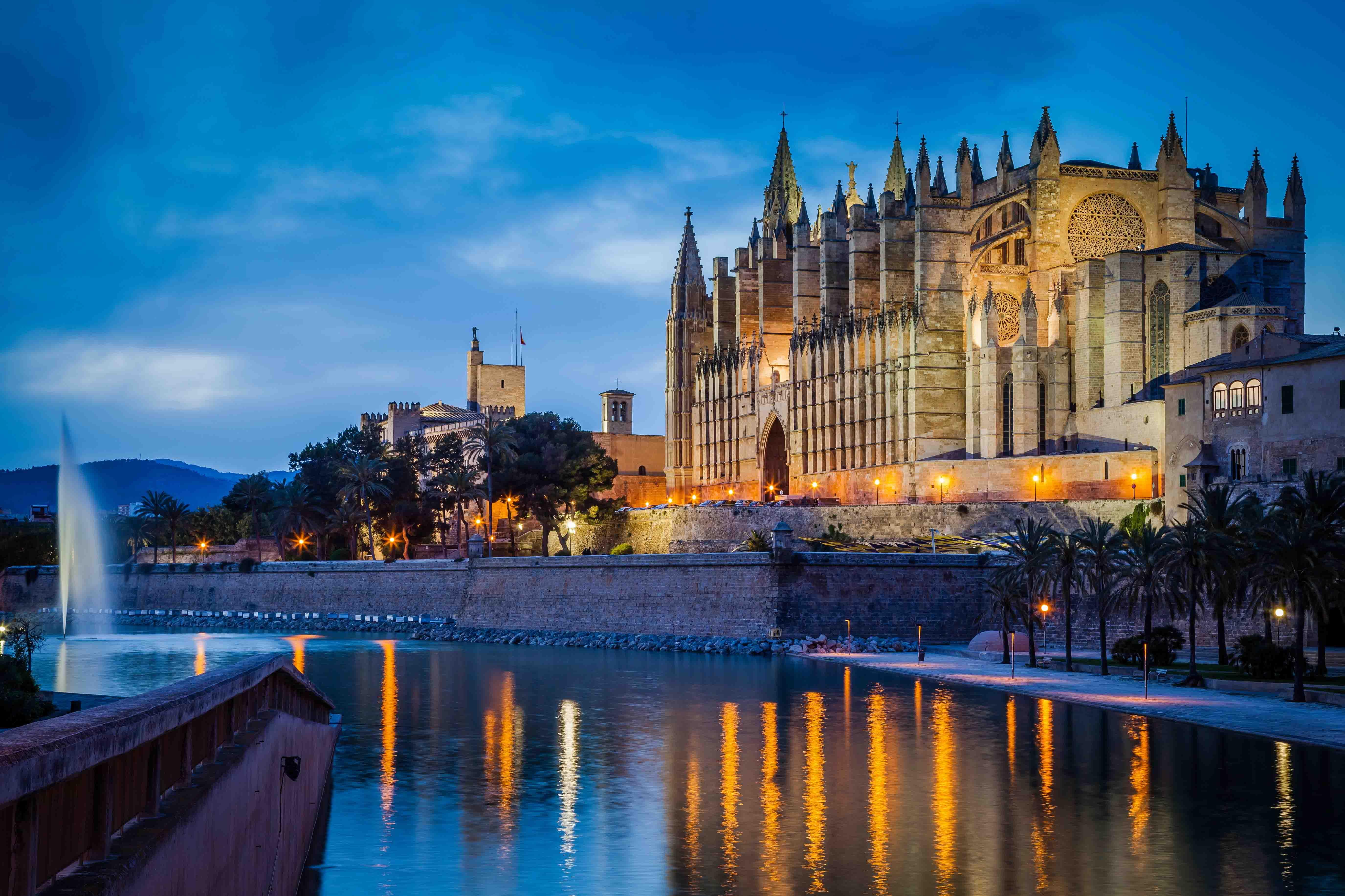 La catedral de palma de mallorca la catedral de la luz - Fotografia palma de mallorca ...