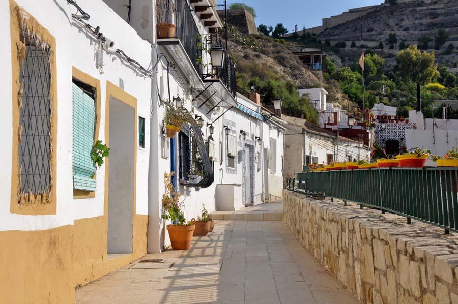 Barrio Santa Cruz Alicante
