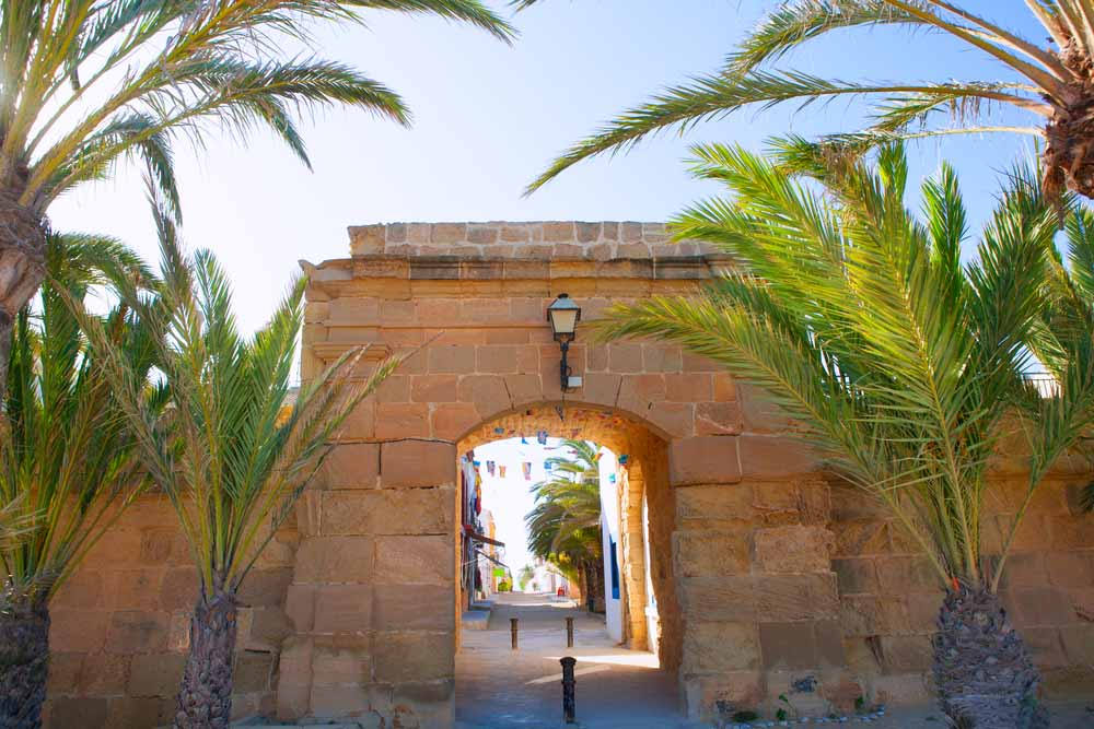 Isla de Tabarca - Puerta Barroca