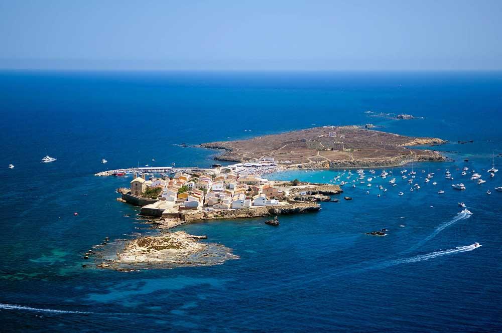 Isla de Tabarca - Vista area