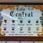 Cafe Central, Malaga