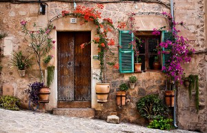 Valldemosa. Paisaje rural, Mallorca