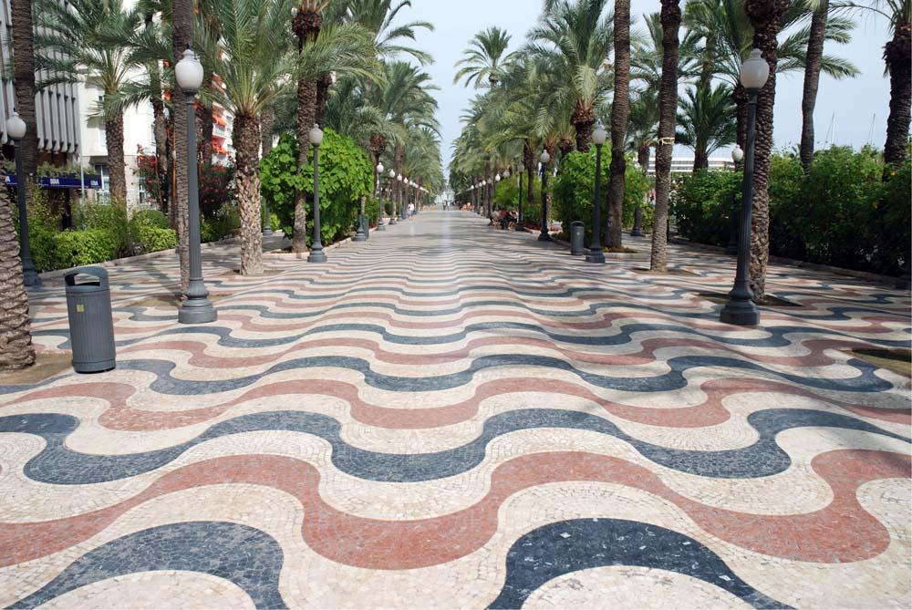Explanada de Espana en Alicante