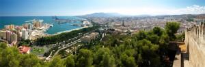 Vistas desde el Castillo del Gibralfaro