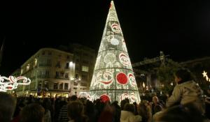 Iluminación y decoración de Navidad en Málaga