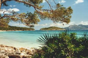 Playa en Formentor