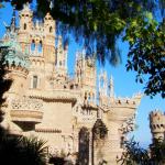 Das Schloss von Colomares, in Benalmádena