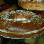 Roscón de Reyes,  weihnachtliche Süss-Speise