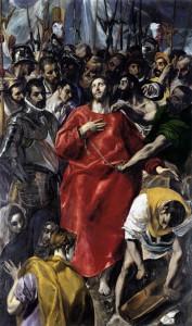 El Expolio, de el Greco. Catedral de Toledo