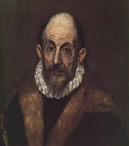 Autorretrato de El Greco