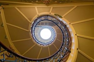 Escalera Modernista de Can Prunera, Sóller (Mallorca)