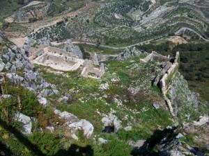 Vista general del Castillo de Benissili