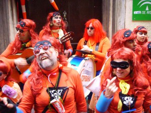 Chirigota del Carnaval de Cádiz