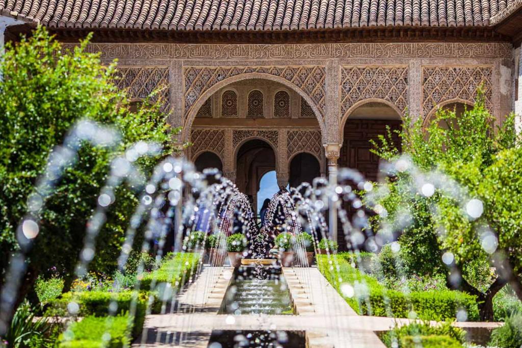 Que ver en Granada - Jardines de la Alhambra