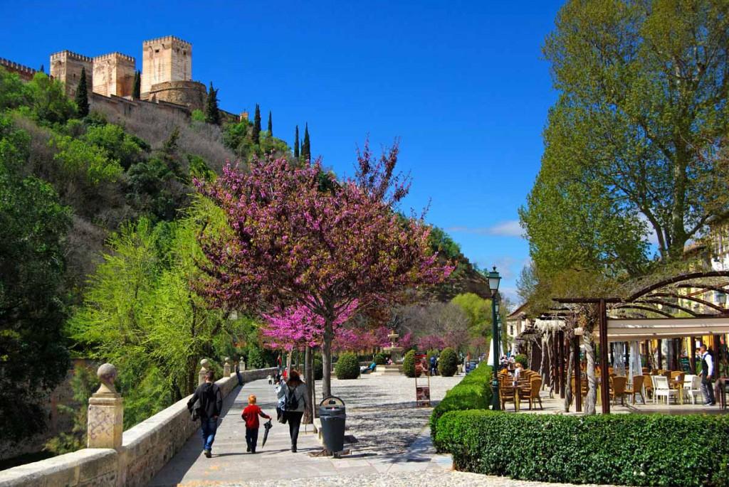 Que ver en Granada - Paseo de los Tristes