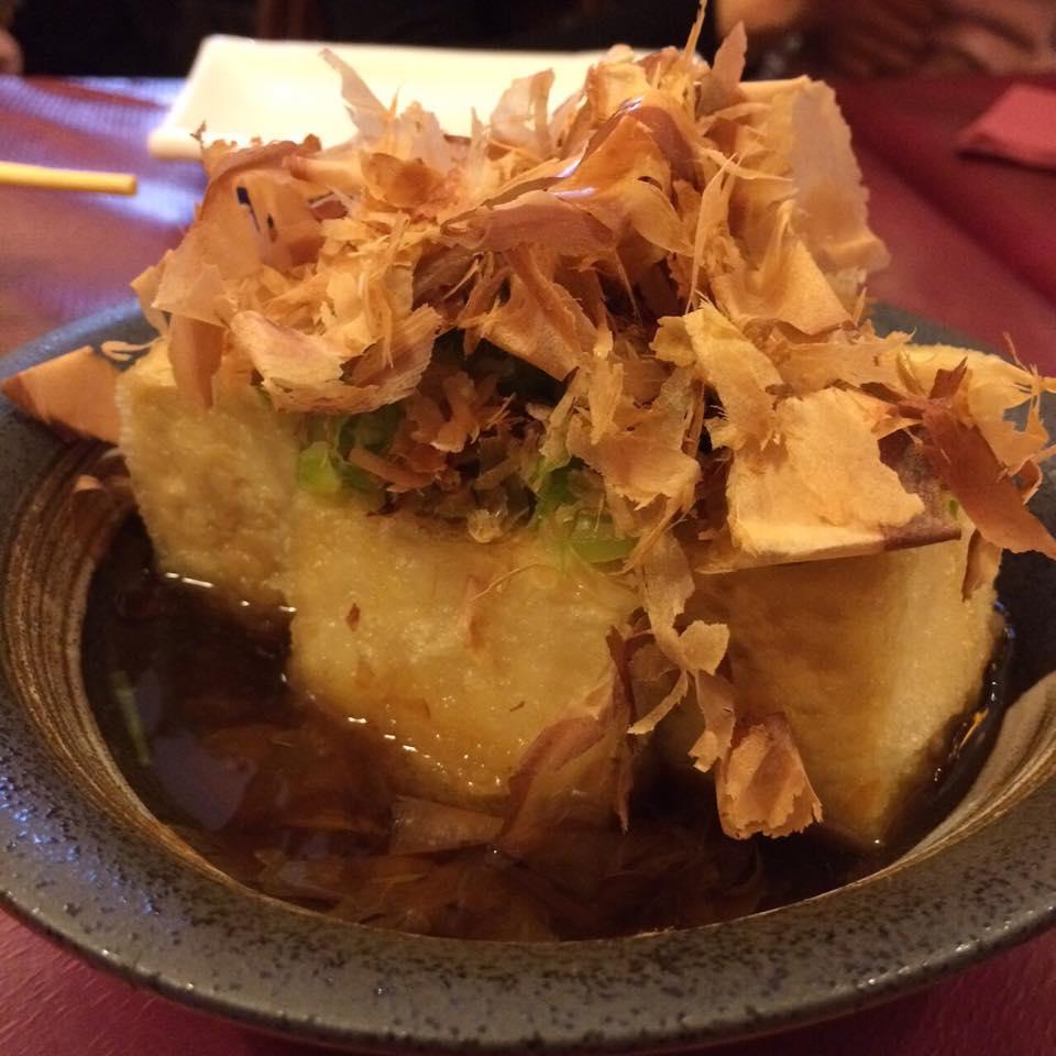 Restaurantes Japoneses Madrid - Hanakura - Agedashi