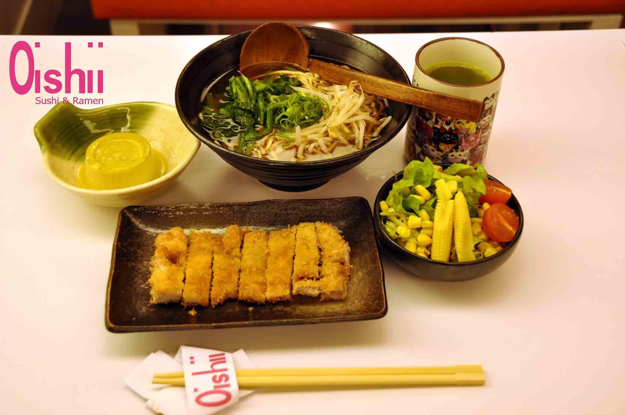 Restaurantes Japoneses Madrid - Oishii Ramen