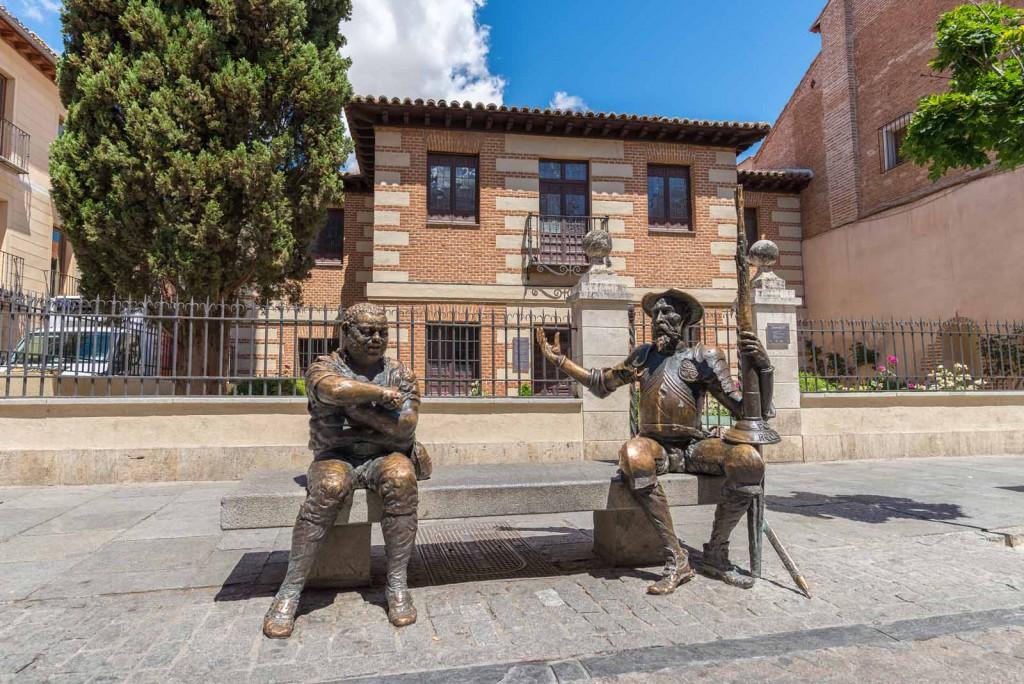 Quijote y Sancho Alcala de Henares