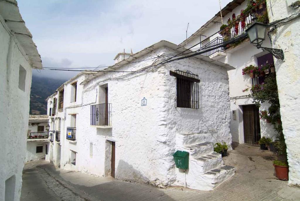 Capileira en Sierra Nevada. Granada. Andalucia. España.