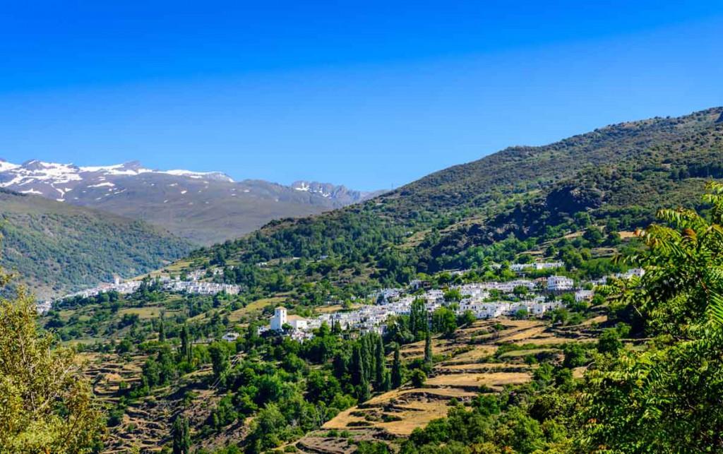 Pampaneira y Capileria en la Alpujarra