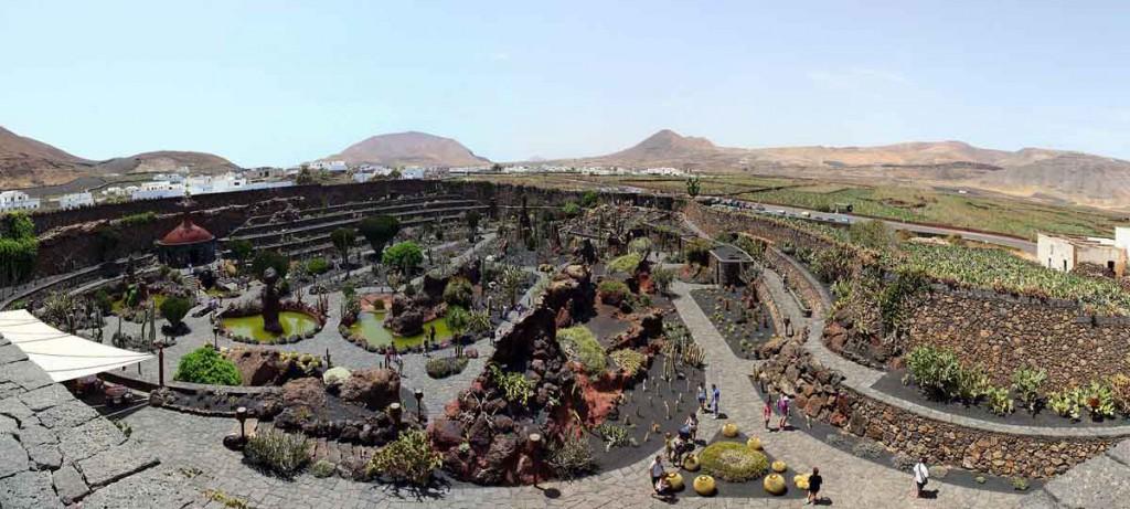Qué ver en Lanzarote: Jardín del Cactus