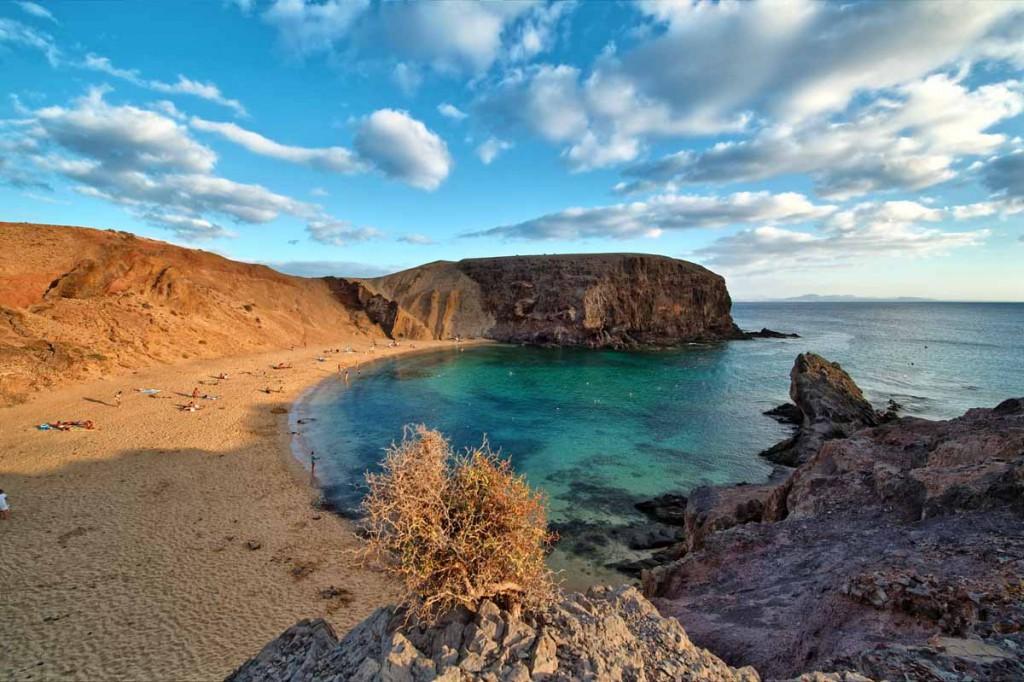 Qué ver en Lanzarote: Playa Papagayo