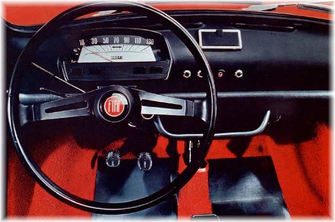 Fiat 500 L Interior