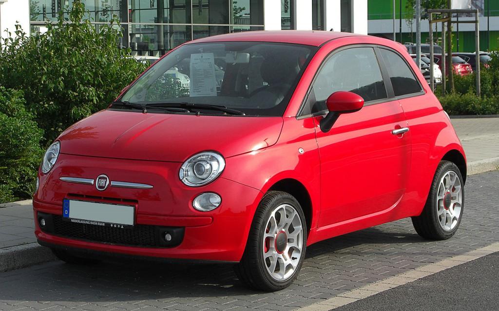 Fiat 500 Rosso Corsa