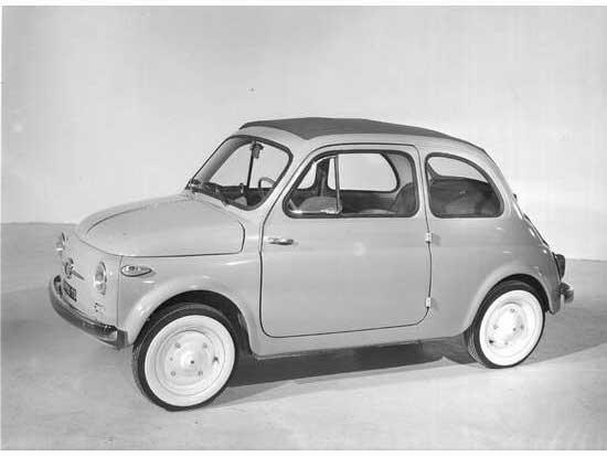 Fiat Nuova 500 primera serie