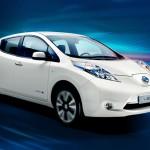 Nissan Leaf Electronica