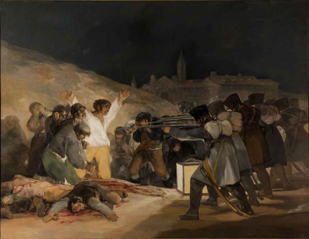 Goya - Fusilamientos del 3 de mayo