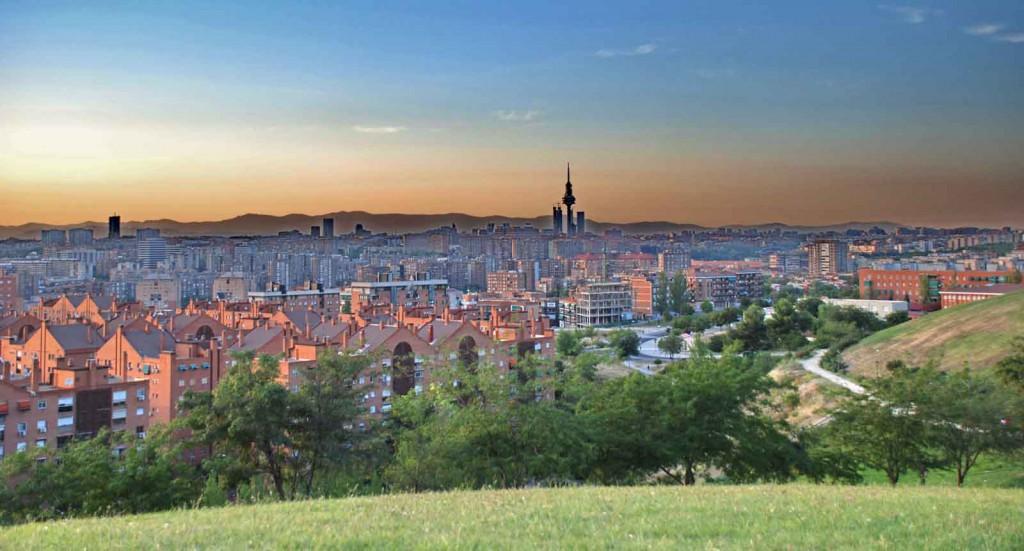 Miradores Madrid Parque de las 7 tetas