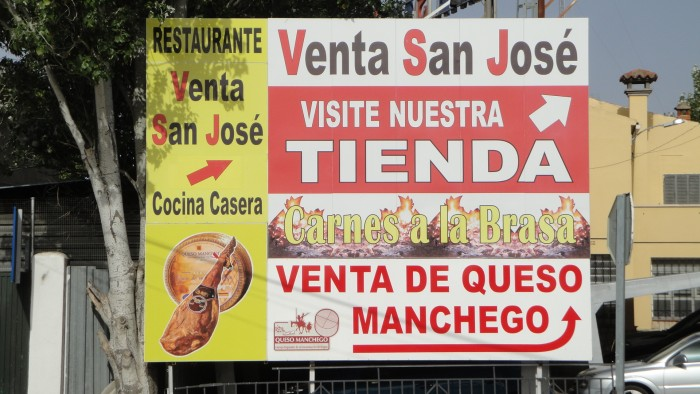 Restaurantes A3 - Venta San Jose