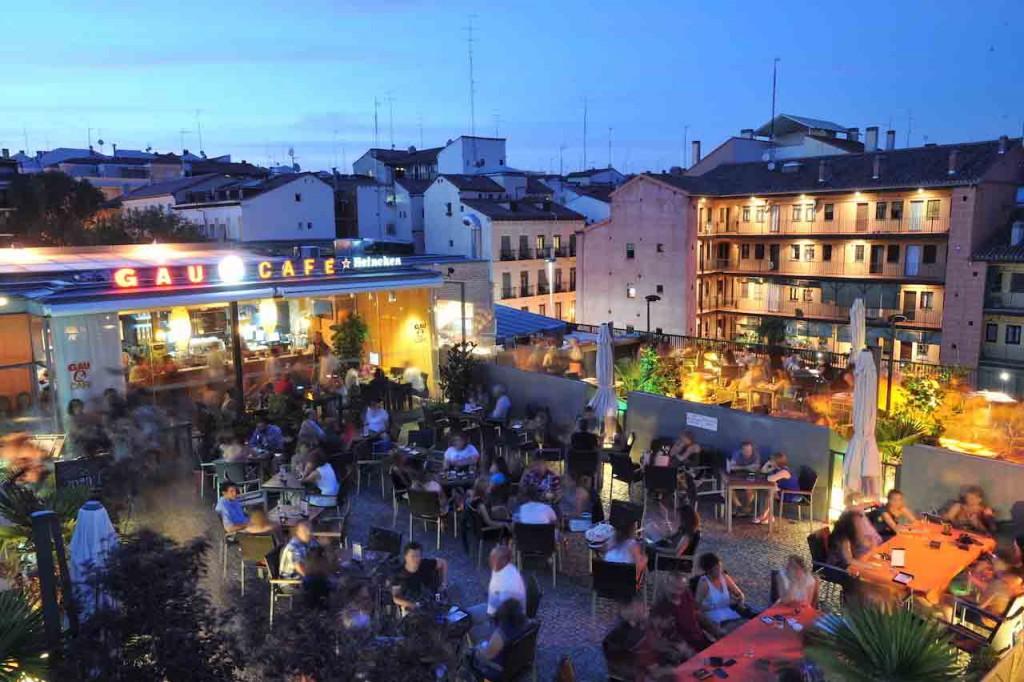 Teraza Gau&Café en Madrid