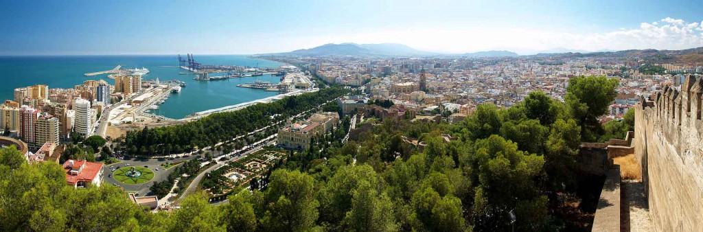 Vista de Malaga