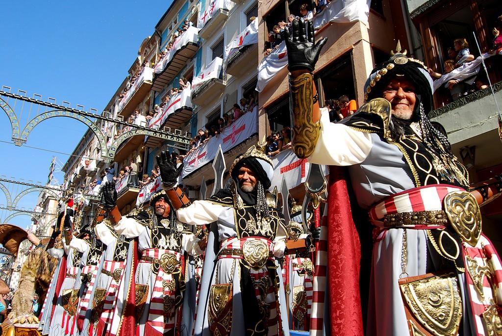Fiestas Moros y Cristianos Alcoy