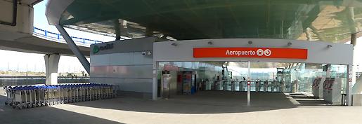 Estación Tren cercanías Aeropuerto de Málaga