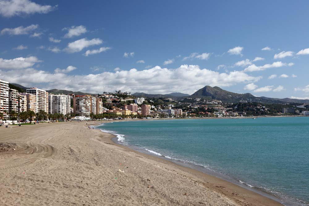 Playa La Caleta, Málaga