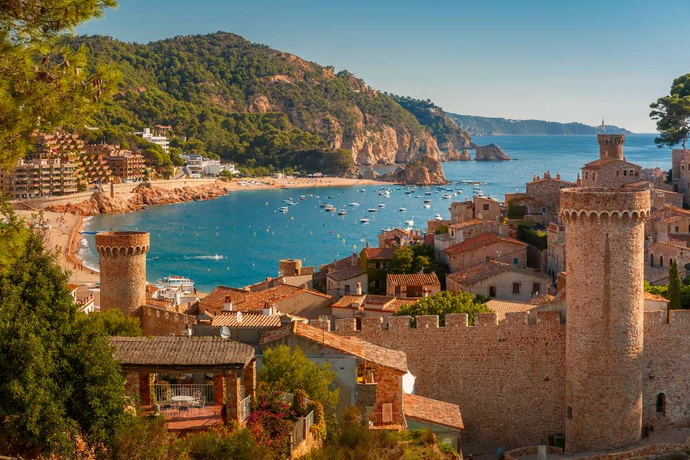 Que ver en Girona Tossa del Mar
