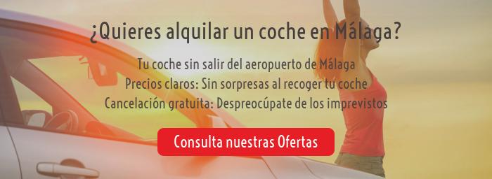 Alquiler de coches en Málaga Aeropuerto