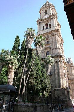 La Manquita de Málaga, la Catedral que se quedó sin torre