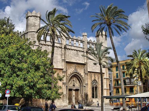 La Lonja de los Mercaderes, en Palma de Mallorca