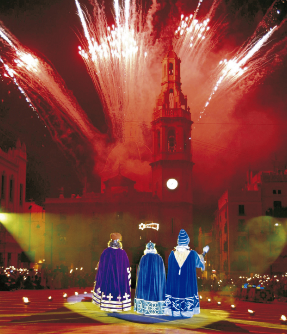 The most ancient parade of Spain, in Alcoy