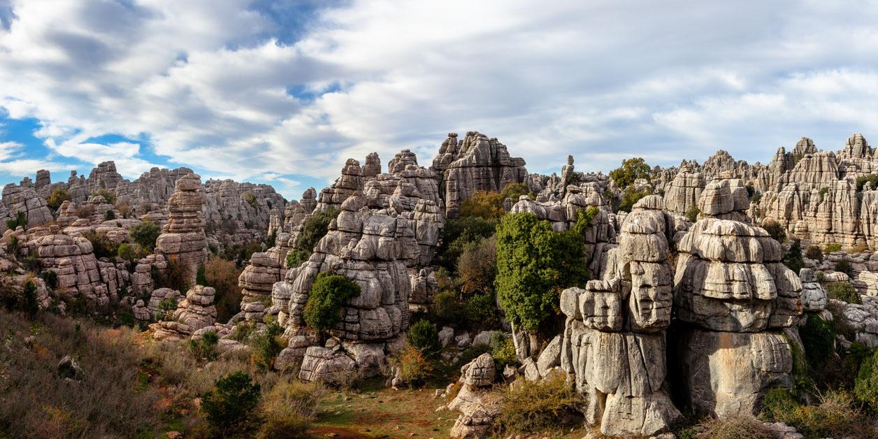 Der Torcal von  Antequera: ein geologisches Laberinth in Malaga