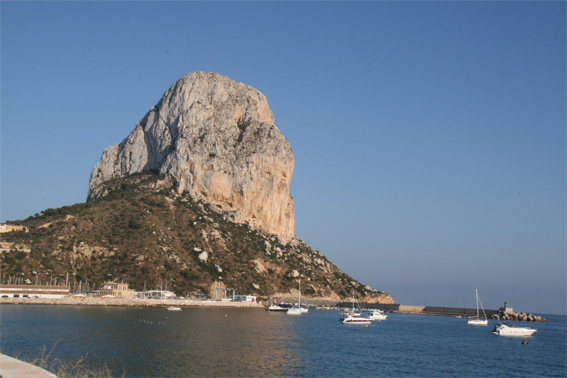 Calpe and the Ifach Rock