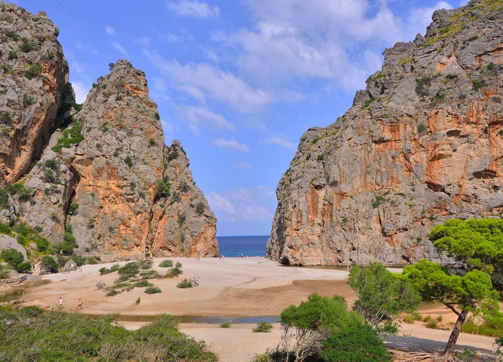 Sa Calobra y el Torrent de Pareis: eine klassische Wanderung in Mallorca