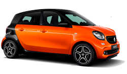 The Smart ForFour joins our fleet