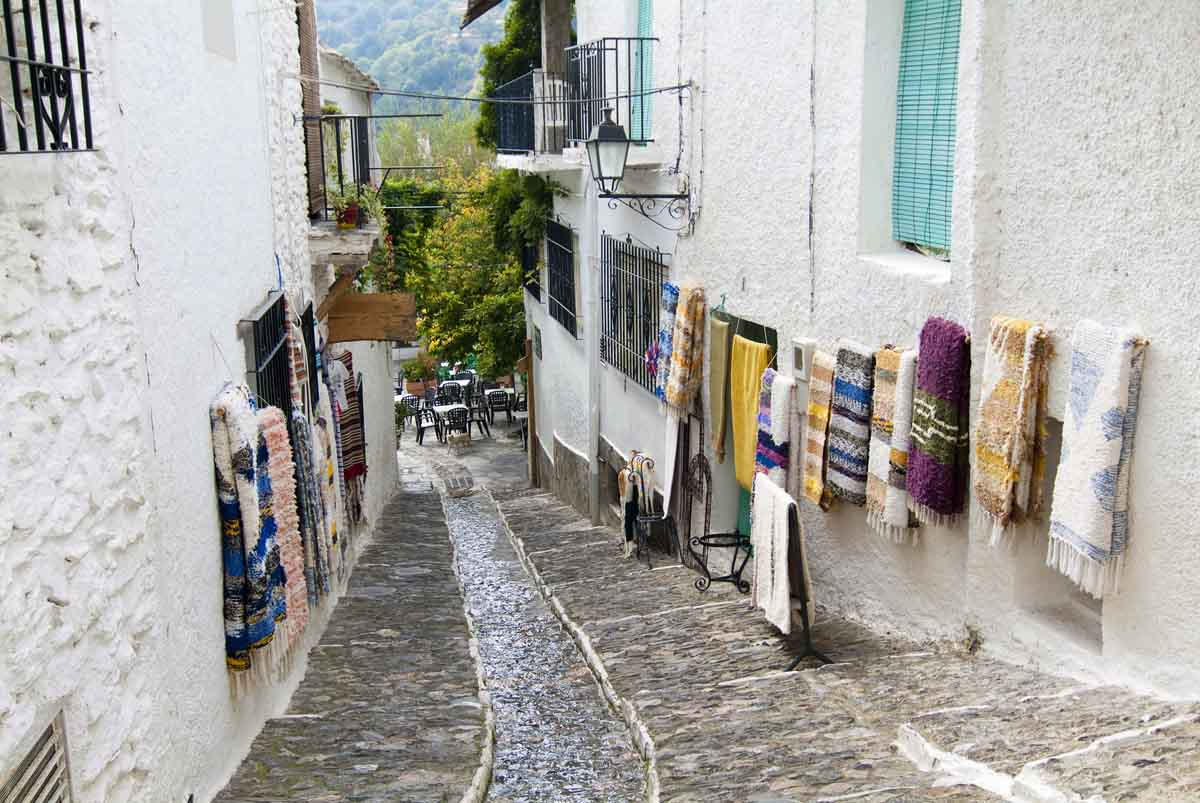 Road trip through the Alpujarra of Granada