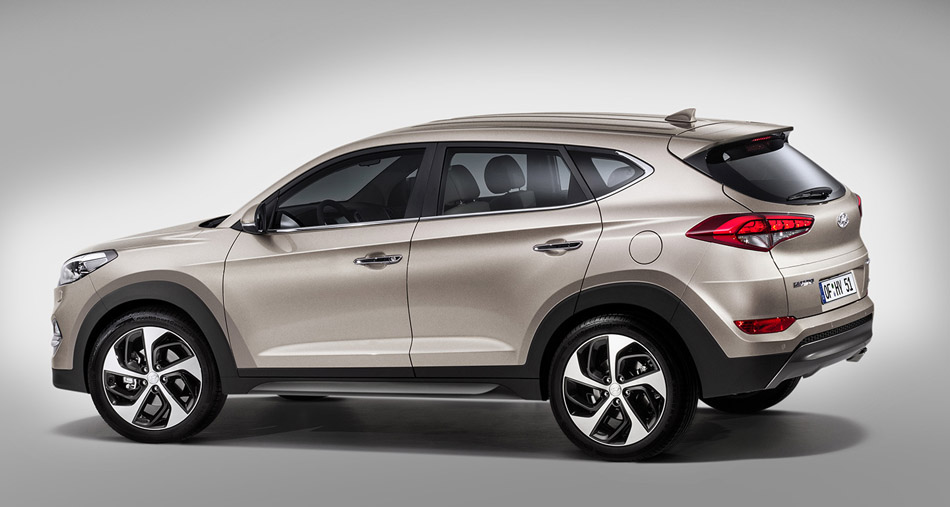 Hyundai Tucson now available for rent at Malaga and Alicante