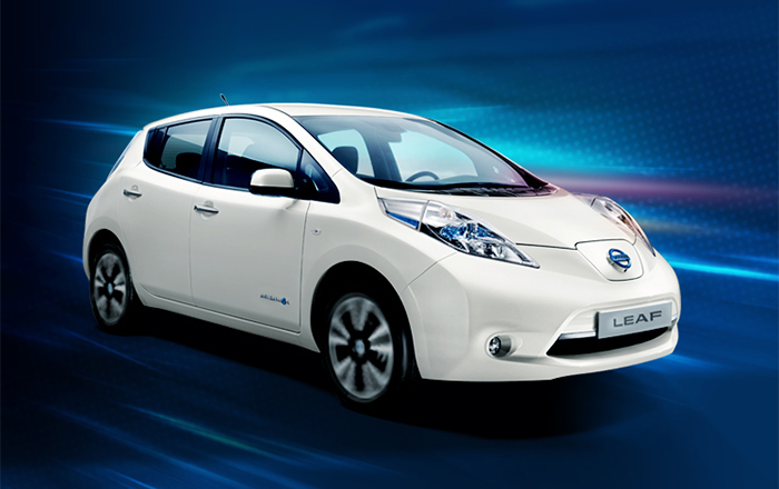 The electric vehicle arrives to Record Go Palma de Mallorca thanks to Nissan
